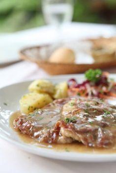 Lemon Veal Saltimbocca Recipe | Healthy Recipes | Good Decisions