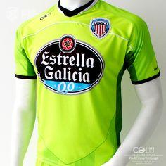 Club Deportivo Lugo 3ª equipación oficial portero Temporada 2013/14 de la marca CDLU