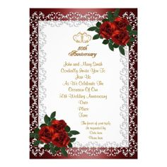 Formal Invitation Templates Wedding Anniversary Party Invitation Wording Ideas And Samples For .
