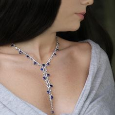 Stenzhorn Blue Divine sapphire and diamond high jewellery necklace