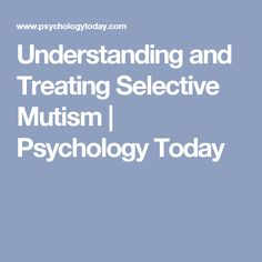 Christian approach adult mutism agree