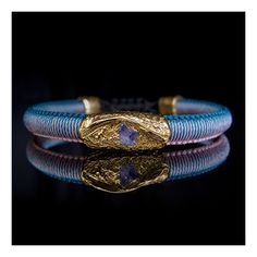 Wimbi Gold with Tanzanite 18k Gold, Sapphire, Wedding Rings, Engagement Rings, Bracelets, Jewelry, Enagement Rings, Charm Bracelets, Bijoux