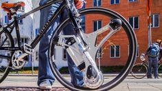 GeoOrbital Wheel: Tron-Inspired Add-On Makes Any Bike Electric... #weburbanist #arts #street_art