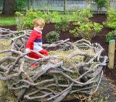 Nests  Massachusetts Horticultural Society's Elm Bank Center, Favorite Outdoor Playspace, Julie Moir Messervy