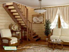 Лестницы-в-дом.РФ - изготовление и продажа деревянных лестниц различного назначения и конструкции. Отечественные и зарубежные производители
