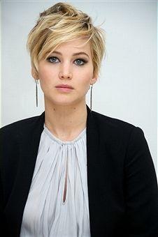 short hair cut | Jennifer Lawrence
