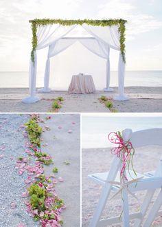 Naples, Florida Wedding at the Ritz-Carlton Beach Resort by Tonya Malay Photography - The Celebration Society