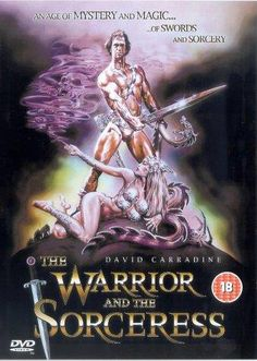 The Warrior And The Sorceress - 1984 - Movie Poster Poster Design Software, Film Poster Design, Original Movie Posters, Movie Poster Art, 1984 Movie, Movie Tv, Robert E Howard, Pulp, Internet Movies