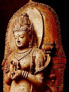 Prajnaparamita Java commons wikimedia Buddhist Meditation, Buddhist Art, Buddhist Prayer, Tibetan Buddhism, Art Bouddhique, Statues, Mini Zen Garden, Zen Garden Design, Buddha Sculpture