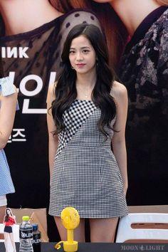 BLACKPINK-Jisoo 180819 OLENS Fansign Event Kpop Fashion Outfits, Blackpink Fashion, Asian Fashion, Blackpink Jisoo, Black Pink ジス, Blackpink Photos, Blackpink Jennie, K Pop, South Korean Girls