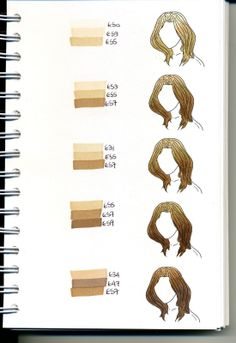 Copic Swatch Book - leaves - bjl | Coloring - Copic | Pinterest ...