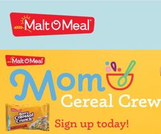 Do you love Malt-O-Meal cereal? Lucky for you, MOM loves moms (and all of their fans), and they've created an entire ambassador program for people like you – no influencer status necessary. You'll get: • Free and discounted Malt-O-Meal products • A community of awesome moms and MOM fans • Chances to win great prizes and swag • Insider information on product launches • Exposure on Malt-O-Meal social channels #SuperSavingMoms #MomBlogger #Ambassador #FreeProductTesting Free Product Testing, Product Launch, Malt O Meal, Monthly Challenge, Social Channel, Love Mom, Best Mom, Cereal, Swag