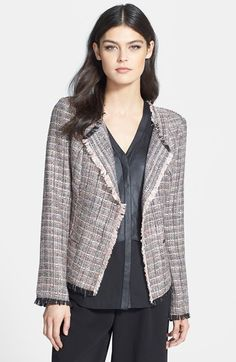 Ro & De Tweed Jacket (Regular & Petite) available at #Nordstrom