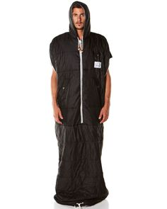 Poler : The Nap Sack, Sleeping Bag, Black | $200.00.