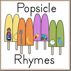 Get these adorable free popsicle rhymes printables at Royal Baloo. Find more free homeschool printables here!