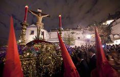 Procesión del Cristo de los Gitanos en Granada. Año 2012 Tower, Granada, Concert, Baby, Saints, Christ, Culture, Historia, Fotografia