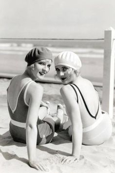 Bathing beauties of the early 20s