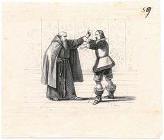 """Immagini manzoniane: bozze delle illustrazioni  per l'edizione de """"I Promessi sposi"""" del 1840 / n. 059"""