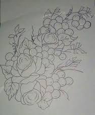Resultado de imagem para riscos de rosas ana laura rodrigues