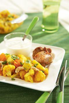 Kasviscurry | Intia | Pirkka #food #India