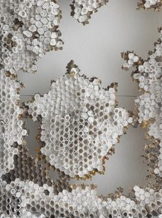 Honeycomb in neutral colours. It is a natural pattern or texture. Geometric repetition from nature. Patterns In Nature, Textures Patterns, Color Patterns, Print Patterns, Natural Forms, Natural Texture, Textiles, Foto Macro, Illustration Manga