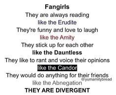Omg I'm divergent yeahhhhh