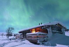 Aurore boréale en Laponie - Finlande