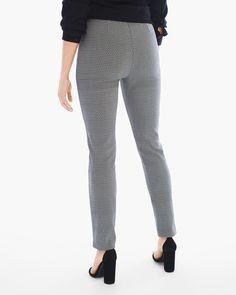 8e1e03c5c95 Brigitte Textured Trapezoid Ankle Pants
