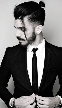 Man Bun For Short Hair? Is there really a man bun for short hair? Let us find out what men in short hair can do for a man bun urge! Knot Bun, Hair Knot, Man Bun Hairstyles, Trendy Hairstyles, Wedding Hairstyles, Men's Hairstyles Long, Hairstyle Ideas, Hipster Hairstyles Men, Hair Ideas
