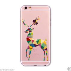 Lovely Christmas New Year Soft Phone Cover Case For iPhone 6 7 5 SE Present Dog Deer Animal Celular Iphone 5 6, Apple Iphone 6s Plus, Iphone Cases, Diy Phone Case, Phone Cover, Skin So Soft, Protective Cases, Presents, Alibaba Group