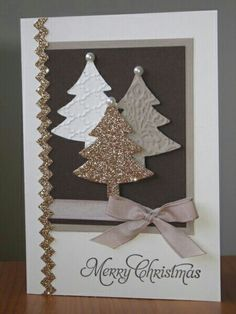 By Rachel Woollard. By Rachel Woollard. Homemade Christmas Cards, Christmas Cards To Make, Homemade Cards, Handmade Christmas, Holiday Cards, Christmas Diy, Merry Christmas, Christmas Crafts, Christmas Decorations