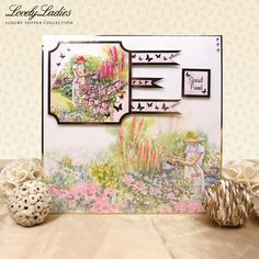 Lovely Ladies | Hunkydory Crafts
