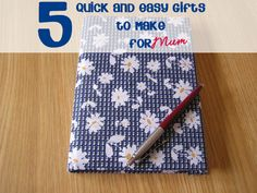 5 Quick and Easy Crafts for Kids to Make for Mums