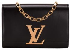 Louis Vuitton Black Chain Shoulder Bag. Get one of the hottest styles of the season! The Louis Vuitton Black Chain Shoulder Bag is a top 10 member favorite on Tradesy. Save on yours before they're sold out!