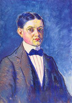 Vladimir Baranoff-Rossine - Self Portrait,1907-1908