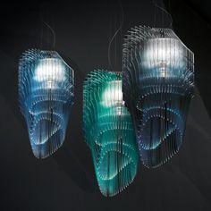 Avia Edition Exclusive Suspension Lamp - Italian Designer & Luxury Lighting at Cassoni Italian Lighting, Luxury Lighting, Outdoor Lighting, Luxury Italian Furniture, Fade To Black, Architectural Features, Lamp Design, Design Projects, Dining Room