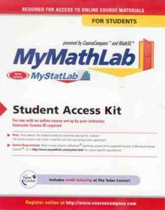 Required Text for Pre-Calculus Honors EBOOK OPTION; My Math Lab Student Access Kit ISBN:9780321199911