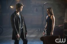"""TOMORROW PEOPLE -- """"Pilot"""" -- Pictured (L-R): Luke Mitchell as John and Peyton List as Cara -- Image Number: TP100D_0366.jpg —  Photo: Barbara Nitke/The CW ©2013 The CW Network, LLC. All Rights Reserved"""
