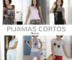 Pijamas cortos para ella cómodos y fescos para las noches de verano #Massana #Pijama #Summer #Spring #noche #MassanaHomewear