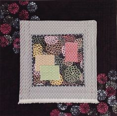 Dancing Flowers by Christine Vinh at StitchesnQuilts in Summer 2016 Art Quilting Studio
