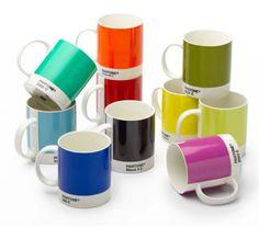 Colección de tazas Pantone