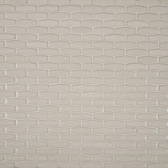 MS International Antique White Elongated Hexagon 12 in. x 12 in. x 8 mm Glazed Ceramic Mesh-Mounted Mosaic Tile (10 sq. ft. / case)-PT-AW-HEXEL - The Home Depot