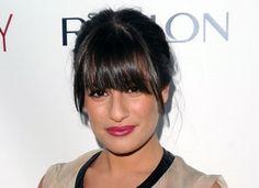 Glee bangs? Almost can't see bangs?