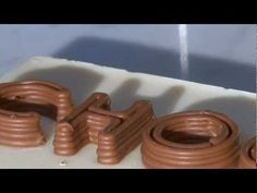 World's First Chocolate Printer - So COOL!