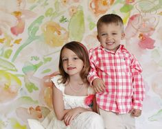 Spring. siblings. Children's photography by Sugar Plum Photos