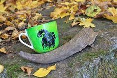 RĘCZNIE MALOWANY KUBEK - FAUN Mugs, Tableware, Art, Art Background, Dinnerware, Tumblers, Tablewares, Kunst, Mug