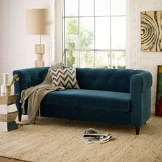 the right colored piece can be all you need in a soft colored room.