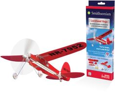 Smithsonian Lockheed Vega Flyer, 2015 Amazon Top Rated Airplane Construction Kits #Toy