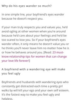 man with a wandering eye meaning