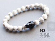 NORBISDESIGN #norbisdeisgn #handmade #bracelet #swarovski #swarovskicrystals #skull #style #jewelry #fashion #fashiorismo #fashionlover available at https://www.michaelsukjewellery.com